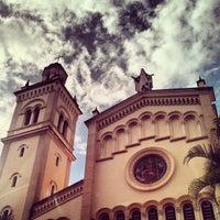 Photo taken at Iglesia Santa Eduvigis by Hugo L. on 5/28/2013