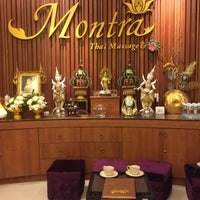 Photo taken at Montra Thai Massage & Spa by Renad ♌. on 8/18/2017