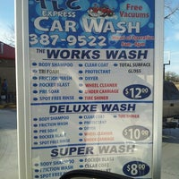 Photo taken at TLC Express Car Wash by Stacey B. on 2/17/2013