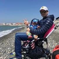 Снимок сделан в Пляж Олимпийского парка пользователем Olga 🇷🇺 B. 5/5/2017