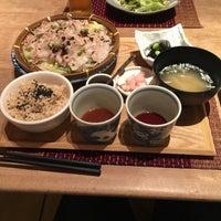Photo taken at 四季の旬菜料理 AEN 丸井溝口店 by Osamu A. on 4/28/2016