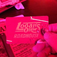 Photo taken at Logan's Roadhouse by Johnny C. on 1/1/2013