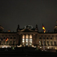 Photo taken at Reichstag by Omar Q. on 2/14/2013