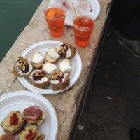 Photo taken at Osteria Al Squero by Ignatius B. S. on 4/13/2014