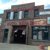 Photo taken at Los Tres Dinamicos Auto Repair by Paige V. on 9/27/2013