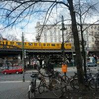 Photo taken at U Schlesisches Tor by Martin V. on 4/13/2013