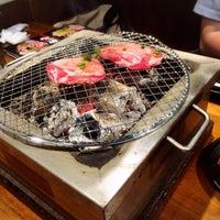 Photo taken at 七輪焼肉 安安 南池袋店 by ゆずりん on 6/1/2016