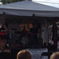 Photo taken at Berwyn Oktoberfest by Jamie A. on 9/27/2014