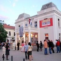 Das Foto wurde bei Knjaževsko Srpski Teatar von Миљковић З. am 3/19/2014 aufgenommen