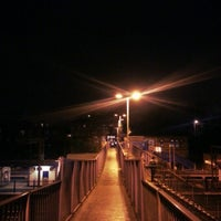 Photo taken at Alexandra Palace Railway Station (AAP) by T H. on 11/25/2012