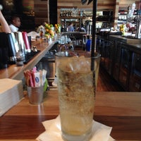 Photo taken at Zinburger Wine & Burger Bar by Gary M. on 7/21/2014
