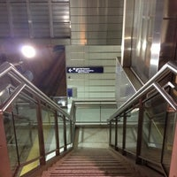 Photo taken at Terminal 1 - Lindbergh LRT Station by Cat H. on 12/22/2012