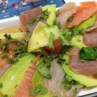 Photo taken at Bonsai Sushi by Erika M. on 9/29/2012