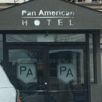 Photo taken at Pan American Hotel by Jessica G. on 3/28/2013