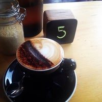 Photo taken at Hoopla Espresso by A D. on 3/25/2014