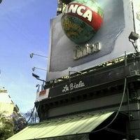Photo taken at La Biela by luk l. on 11/20/2012