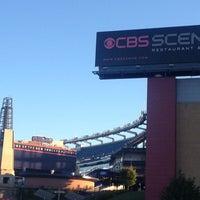 Photo taken at CBS Scene Restaurant & Bar by Lenny H. on 8/14/2013