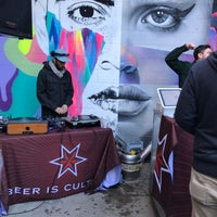 Photo taken at Sixpoint Brewery by Nic B. on 3/24/2018