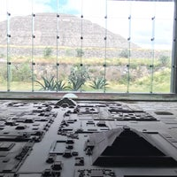 Photo taken at Museo de la Cultura Teotihuacana by Nic B. on 10/23/2017