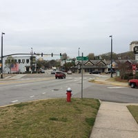 Photo taken at Five Points by Sic W. on 3/28/2014