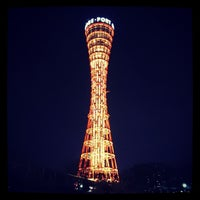 Photo taken at Kobe Port Tower by Takahiro A. on 3/29/2013