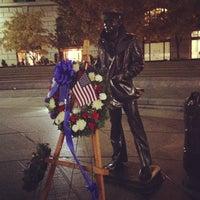 Photo taken at United States Navy Memorial by Kenya F. on 11/12/2012