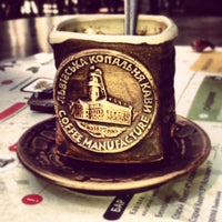 Снимок сделан в Львівська копальня кави пользователем Даниил Т. 6/19/2013