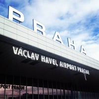 Photo taken at Václav Havel Airport Prague (PRG) by cetin altan s. on 9/27/2012