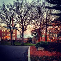 Photo taken at Tufts University by Spencer S. on 11/27/2012