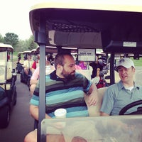 Photo taken at Tiffany Greens Golf Club by Mike F. on 5/17/2013