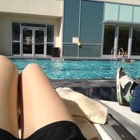 Photo taken at Pool Deck at Grand Hyatt by mindi on 3/26/2013