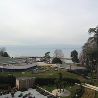 Photo taken at Hilton Evian-les-Bains by Kirill I. on 3/22/2013