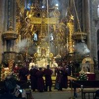 Photo taken at Catedral de Santiago de Compostela by Miky M. on 1/2/2013