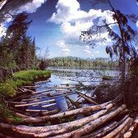 Photo taken at Белое Озеро by Irina S. on 8/8/2013