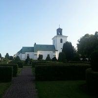 Photo taken at Gislövs kyrka by Marlena N. on 7/12/2013