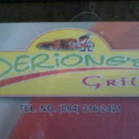 Photo taken at Deriong's Grill by Adrianette Dorothy C. on 9/15/2012