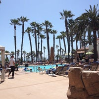 Photo taken at The Waterfront Beach Resort, a Hilton Hotel by Sonya Q. on 5/27/2013