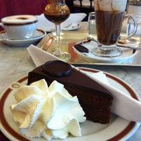 Photo taken at Café Sacher by Dmitry T. on 5/2/2013