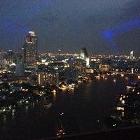 Photo taken at Millennium Hilton Bangkok by Mill M. on 10/22/2013