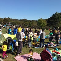 Photo taken at こどもの国 中央広場 by hosotaku on 10/27/2013