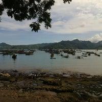 Photo taken at Pantai Indah Popoh by Furqon A. on 4/27/2014