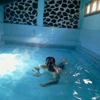 Photo taken at Pemandian Air Panas - Hotel Duta Wisata Guci by Patmono D. on 4/21/2013