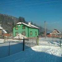 Photo taken at Колиба «Гостинна хата» by Maxim G. on 12/31/2016