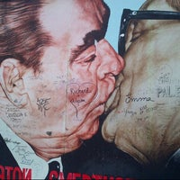Photo taken at East Side Gallery by Michele M. on 3/10/2013
