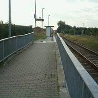 Photo taken at Bahnhof Tangermünde West by Kai W. on 8/28/2013