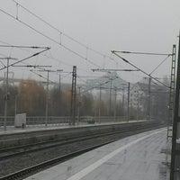 Photo taken at Bahnhof Rendsburg by Kai W. on 11/12/2013