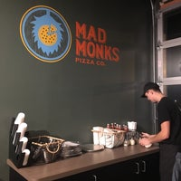 Photo taken at Mad Monks Pizza Co. by Luis Carlos D. on 12/21/2017