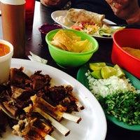 Photo taken at Chalio Birrieria Mexican Restaurant by Ginelle C. on 10/31/2014