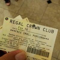 Photo taken at Regal Cinemas Fox 16 & IMAX by Kris H. on 8/2/2014