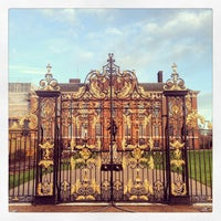 Photo taken at Kensington Palace by Michael T. on 2/5/2013